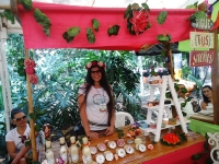 Ambiente festivo se vivió en el Bazar de los Artistas de Medellín