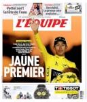 Así se registró en el mundo el título de Egan Bernal en el Tour de Francia