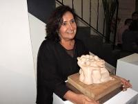 Gloria Vélez inaugura exposición en la galería Manila de Medellín