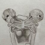 Juanita Saldarriaga la joven que sorprende con sus dibujos