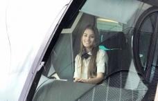 Laura Vega, la joven modelo que es conductora del Metro