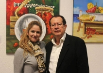 Rubén Crespo expone en la Casa de la Cultura de Envigado